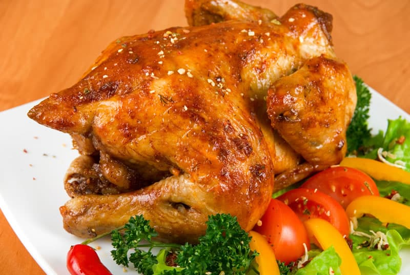 Roast Chicken with a Rotisserie Oven
