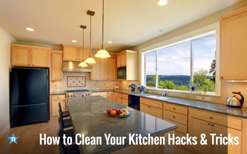 13 How to Clean your Kitchen Hacks and Tricks