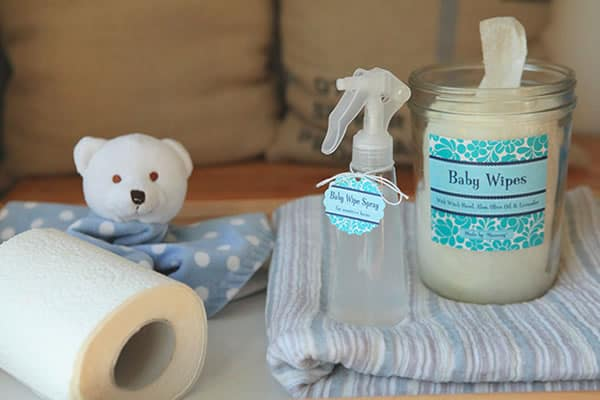 All natural baby wipes
