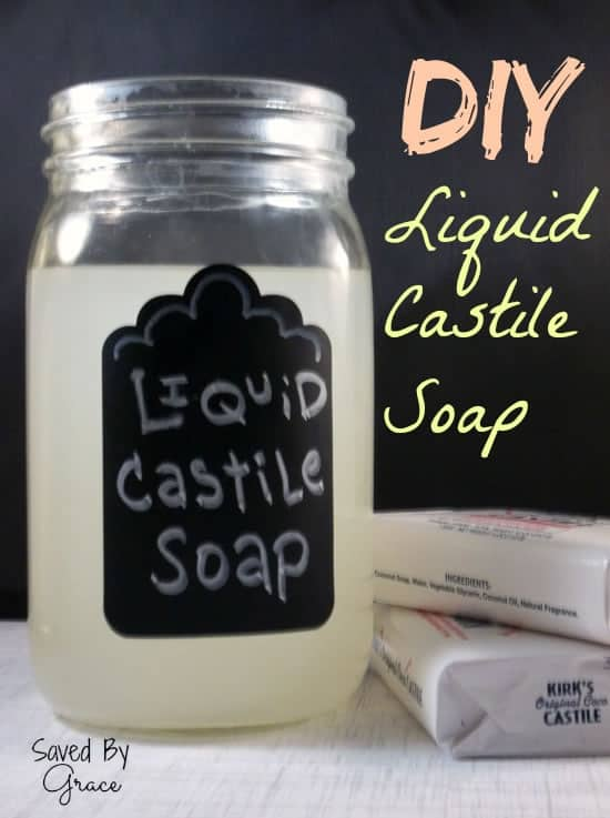 DIY Liquid Castile Soap