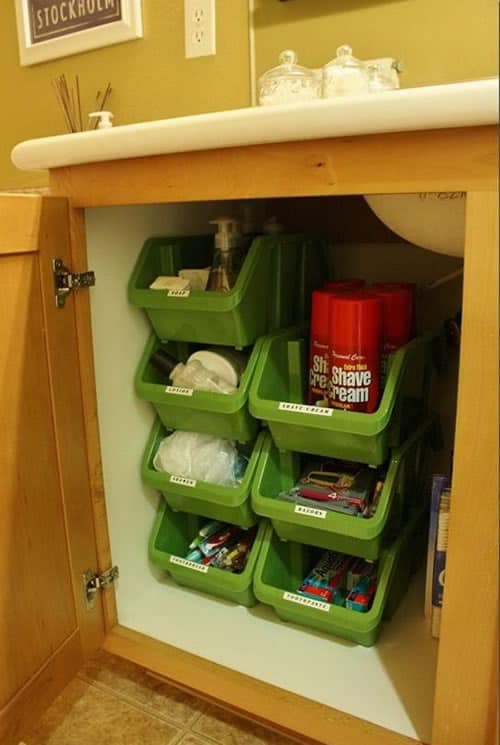Storage Under Sink Ideas