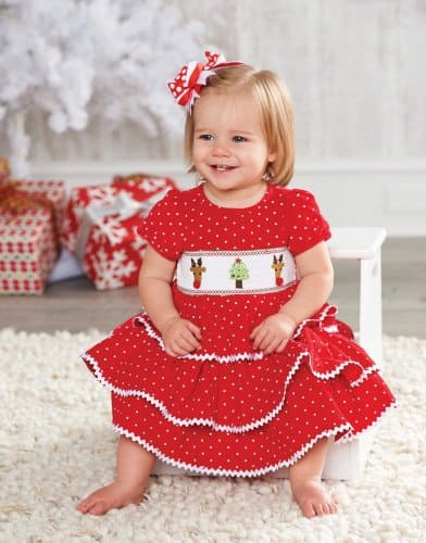 Best Christmas Holiday Smocked Dresses