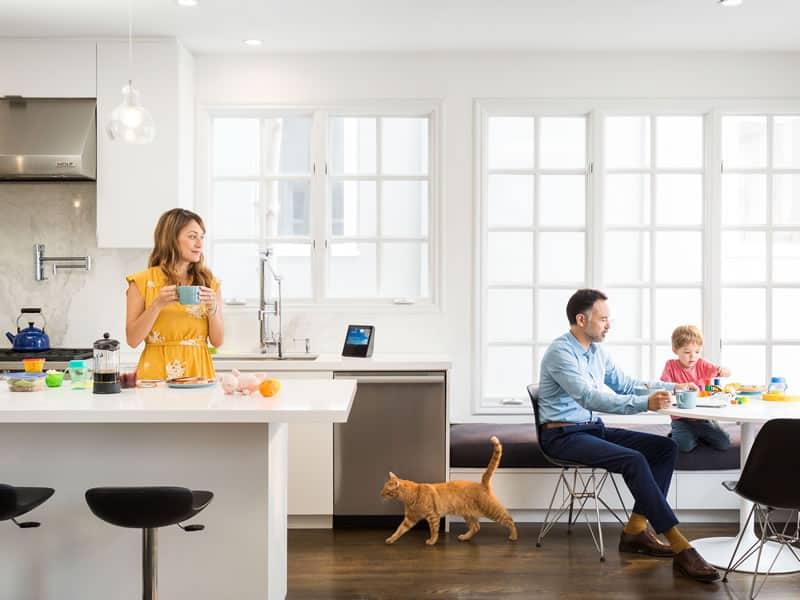 Amazon Echo Show in Kitchen