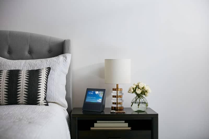 Amazon Echo Show in bedroom