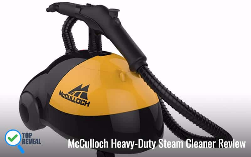 McCulloch MC1275 Heavy-Duty Steam Cleaner Review