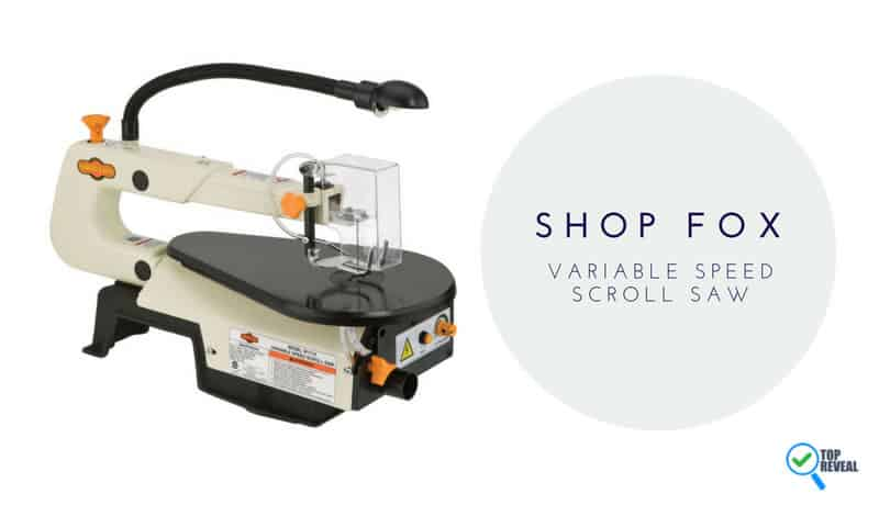 Shop Fox W1713 16-Inch Variable Speed Scroll Saw Review