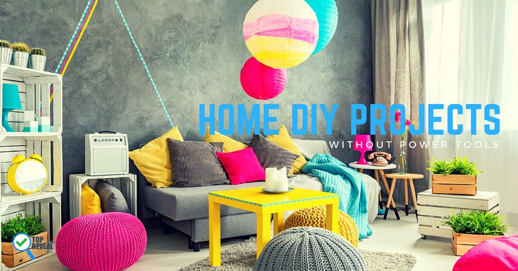 Home DIY Projects without tools blog image