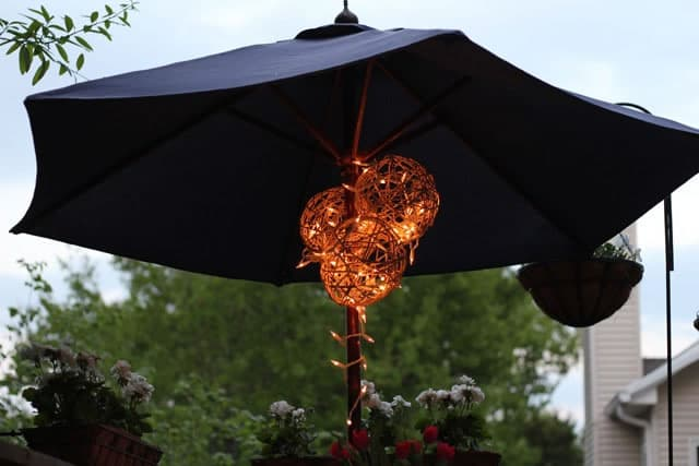 DIY Outdoor Lantern