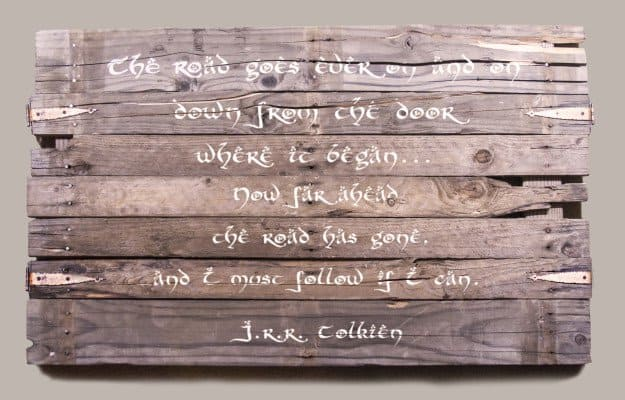 Wooden Wall Pallet Sign