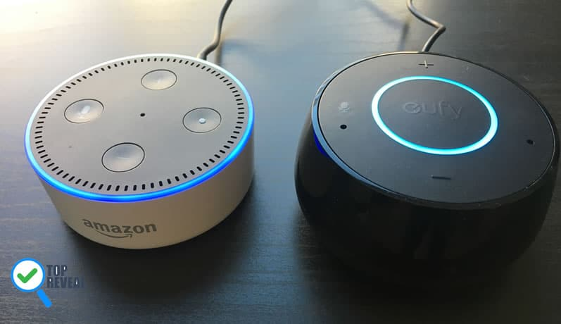 Amazon Echo Dot Vs. Eufy Genie Smart Speaker
