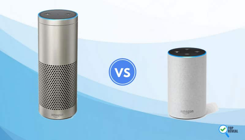 Echo Plus vs Echo 2 comparison