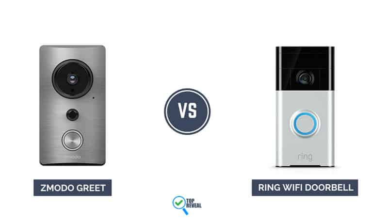 Zmodo Greet vs Ring WiFi Doorbell Comparison
