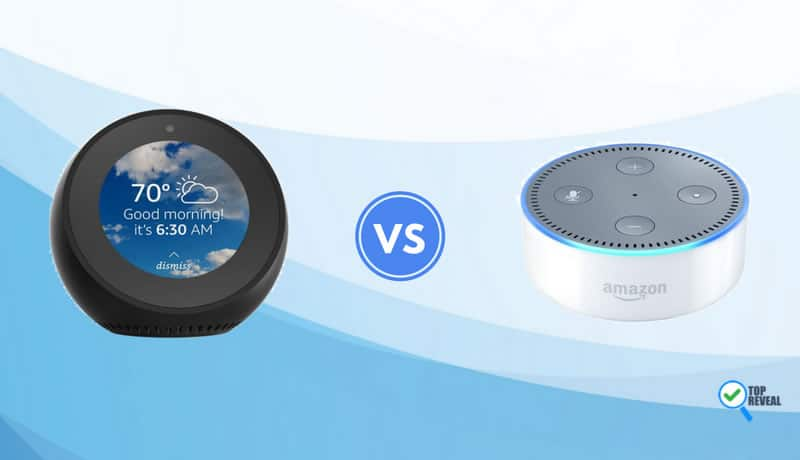 Amazon Echo Spot vs Echo Dot