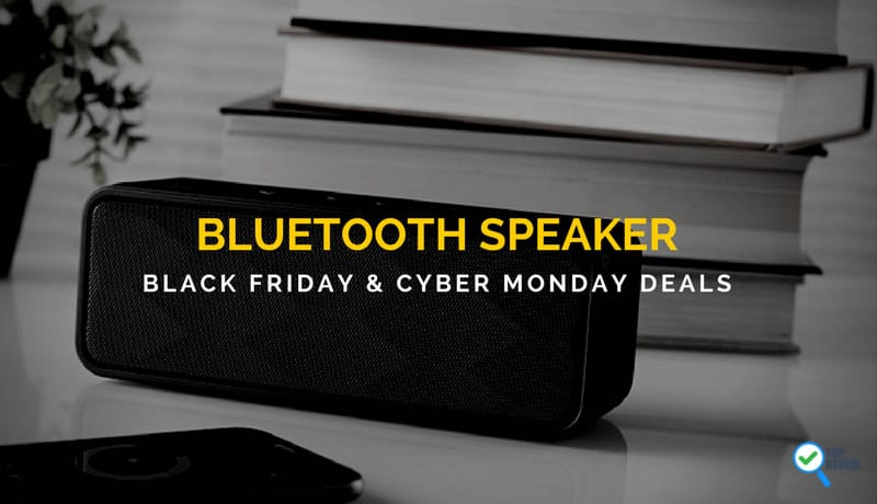 Bluetooth Speaker Black Friday and Cyber Monday Deals