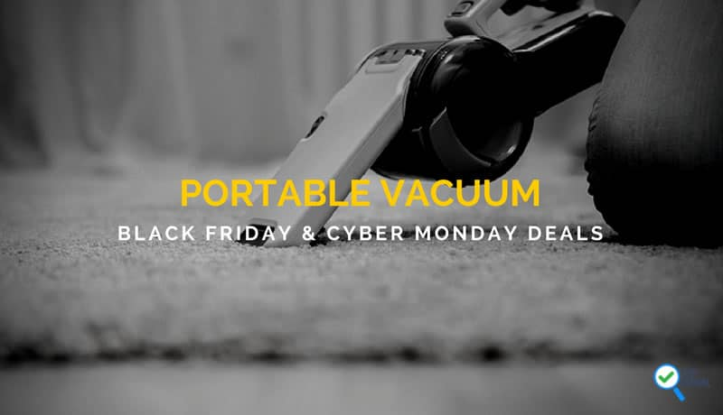 Portable Vacuum Black Holiday and New Year Deals