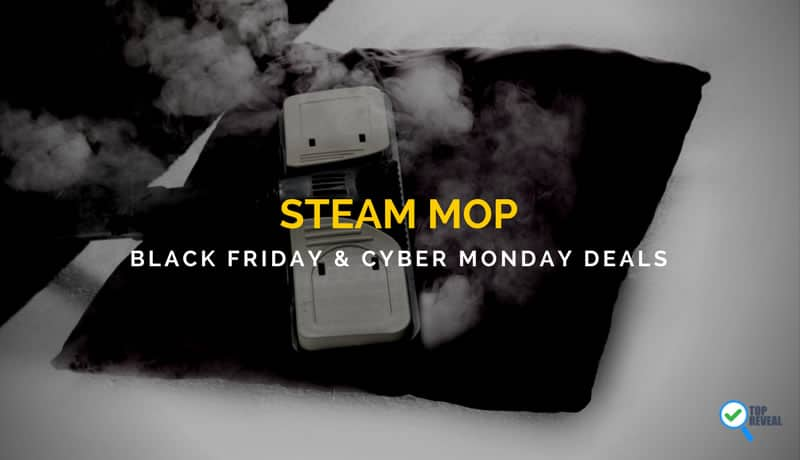Steam Mop Black Friday and Cyber Monday Deals