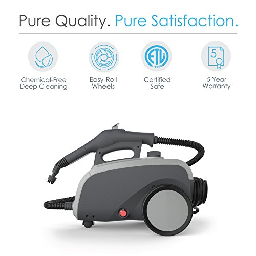 PureClean XL Rolling Steam Cleaner In-Depth Review