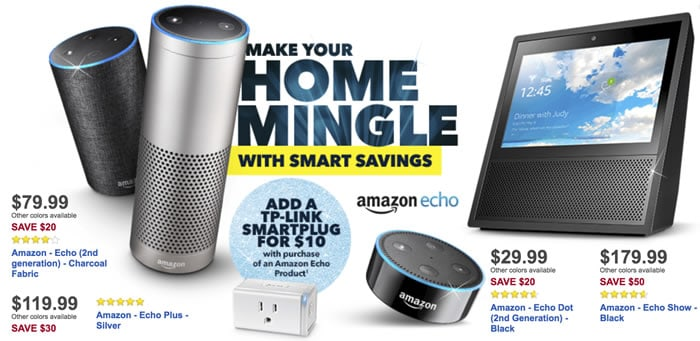 Amazon Echo Black Friday Coupons