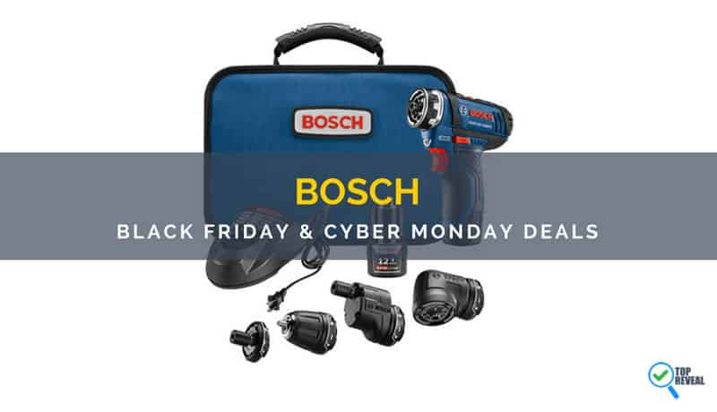 Bosch Black Friday And Cyber Monday Deals