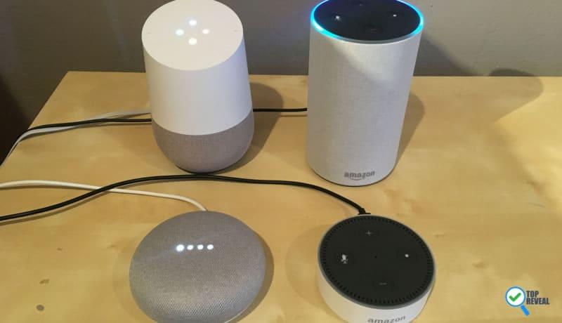 Compare Amazon Echo and Google Home Sale