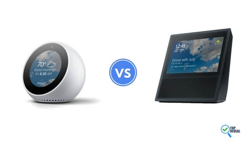 Echo Spot vs Echo Show Comparison