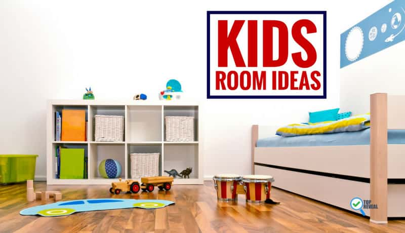 10 Amazing Kids Room Ideas: 20 Kid's Bedroom Decor Ideas: Let Your Imagination Run