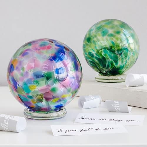 birthstone wishing balls
