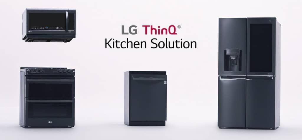 LG Smart Home Appliances CES 2018