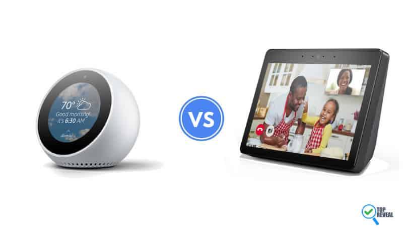 Echo Spot vs Echo Show 2 Comparison
