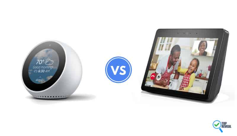 Echo Spot vs Echo Show 2 Comparison