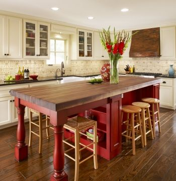 Islands- Centerpieces of the Kitchen