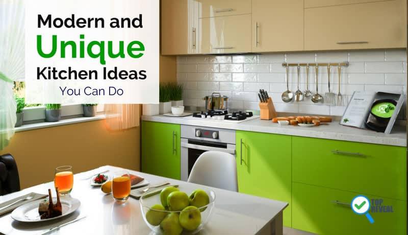 Modern and Unique Kitchen Ideas