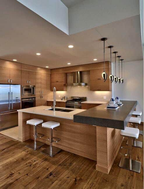 Wooden Contemporary-Just Dashing