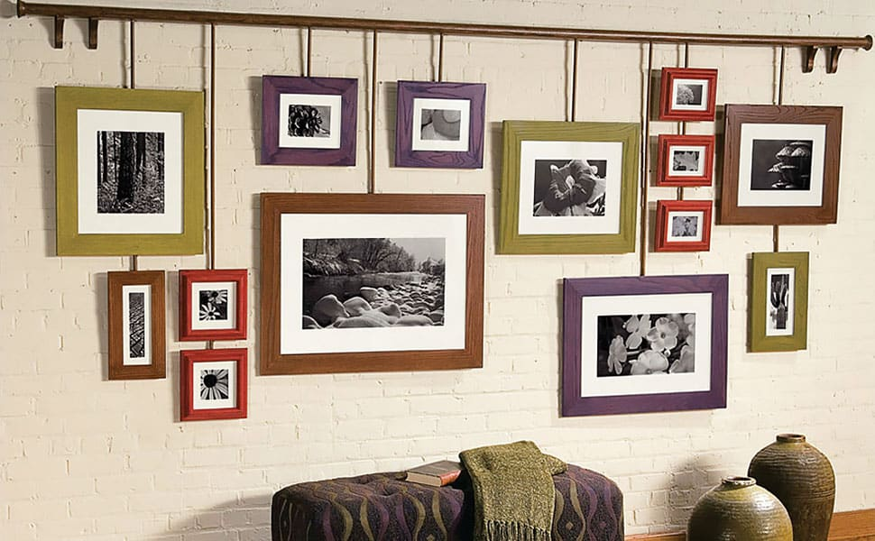 DIY Photo Frame to Hang Around