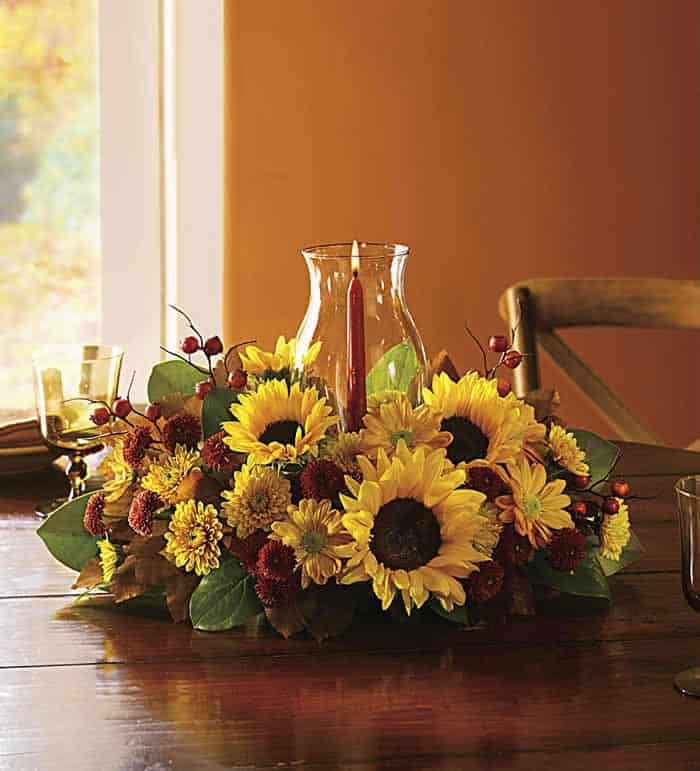 Sunflower Centerpiece for the Spring