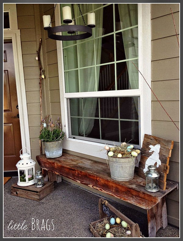 DIY Easter Porch