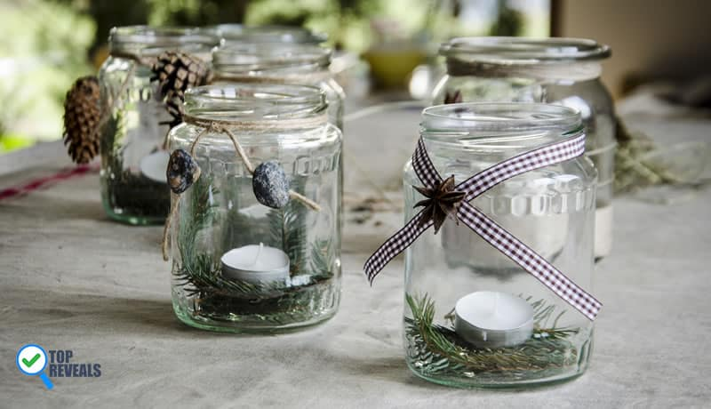 DIY Mason Jar Lanterns and Lights