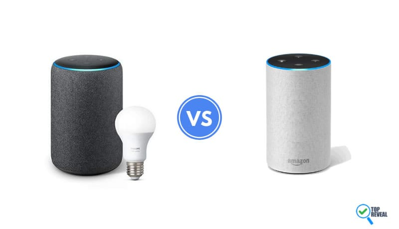 Echo Plus 2 vs Echo 2