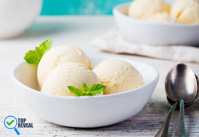 Vanilla Ice Cream DIY at Home