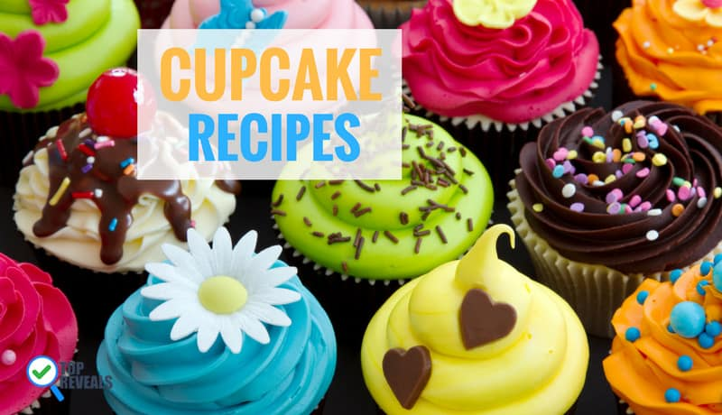 Yummy and Colorful Cupcake Recipes