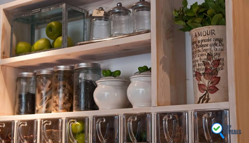 diy kitchen organization on a budget