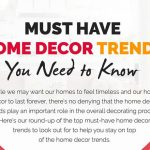 must have home decor trends