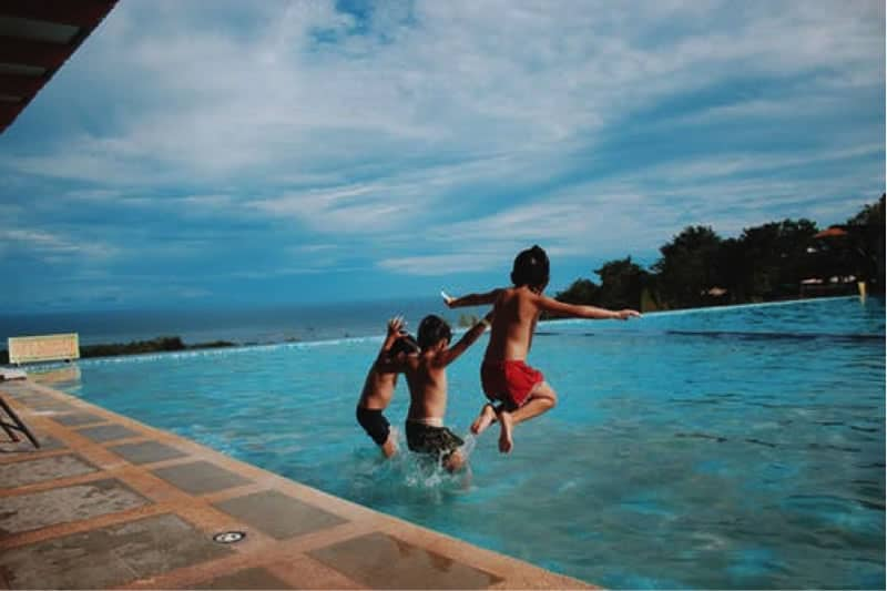 Activities in the restort during vacation