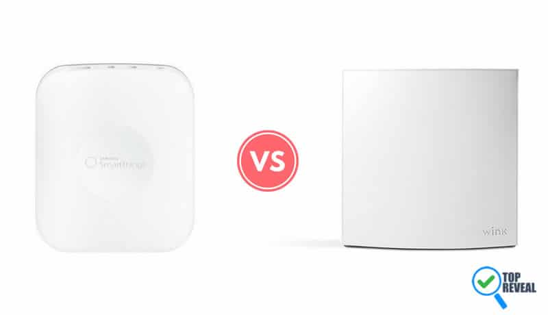 Samsung SmartThings vs Wink Hub Comparison