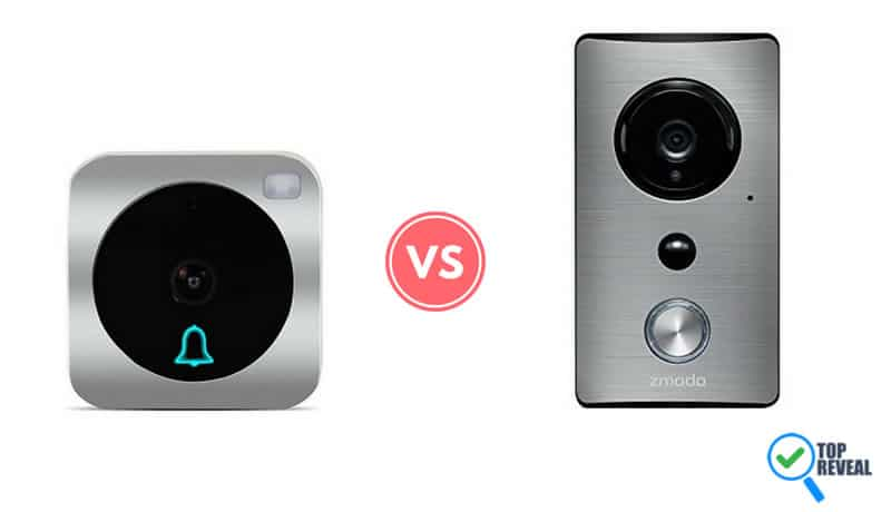 Vuebell vs Zmodo WiFi Doorbell Comparison