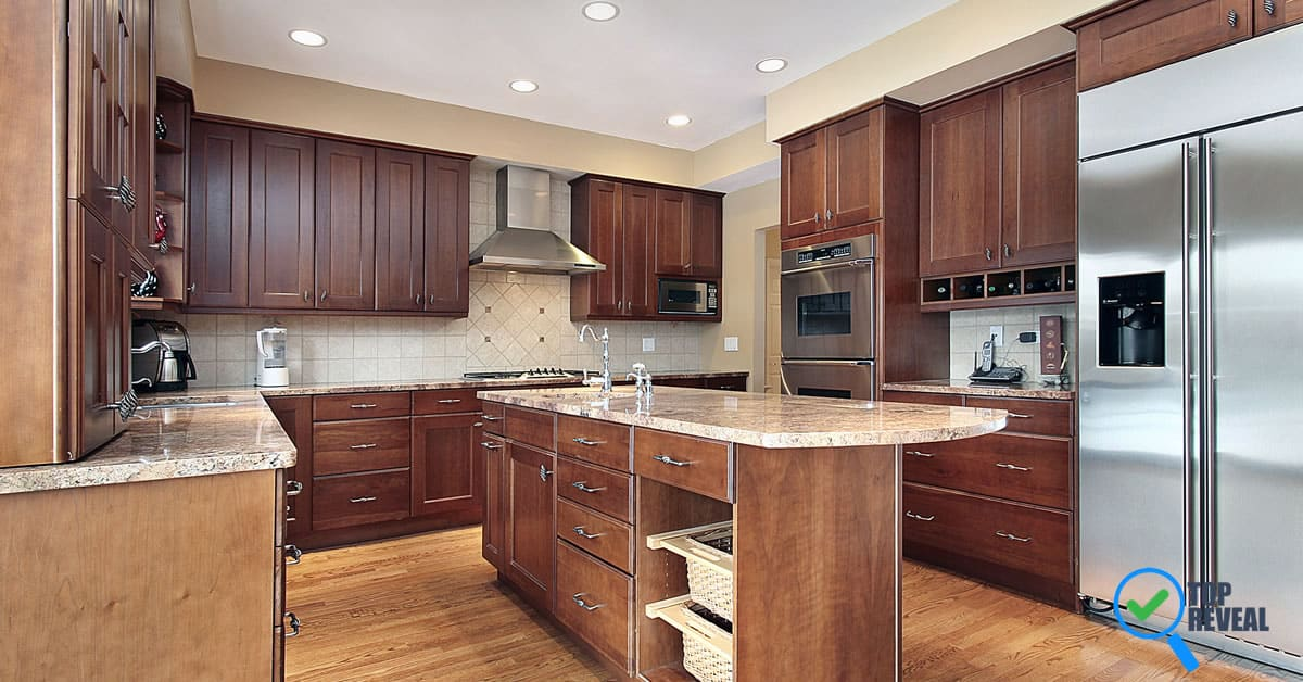 how to clean kitchen countertops