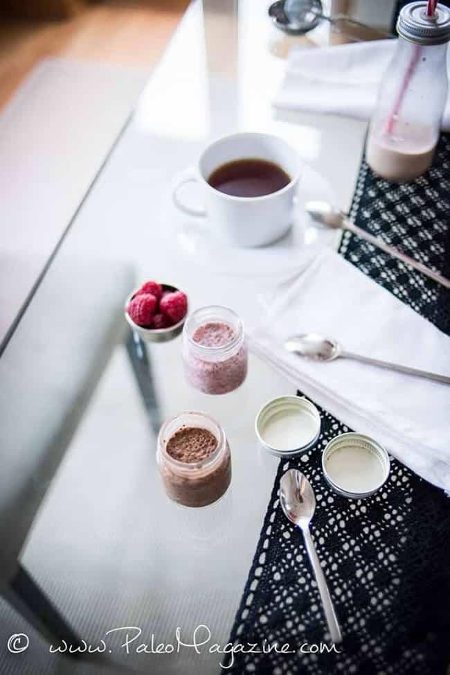 Cinnamon Chocolate Keto Chia Pudding