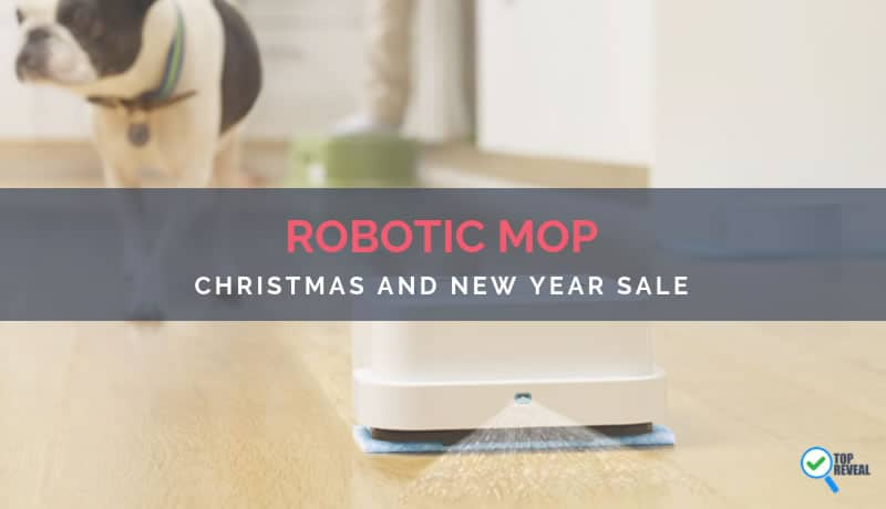Robotic Mop Christmas and New Year Sale