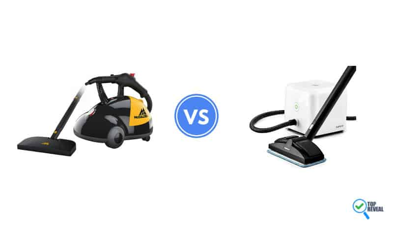 McCulloch vs Dupray Steam Cleaner