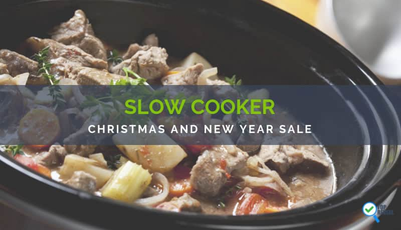Crock Pot Holiday and New Year Sale